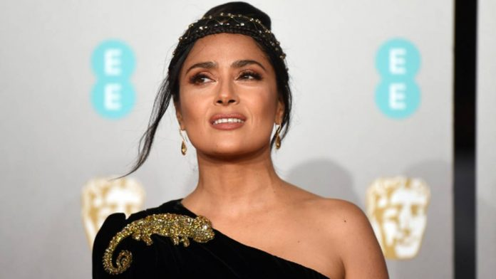 Salma Hayek and Alfonso Cuaron on vacation together