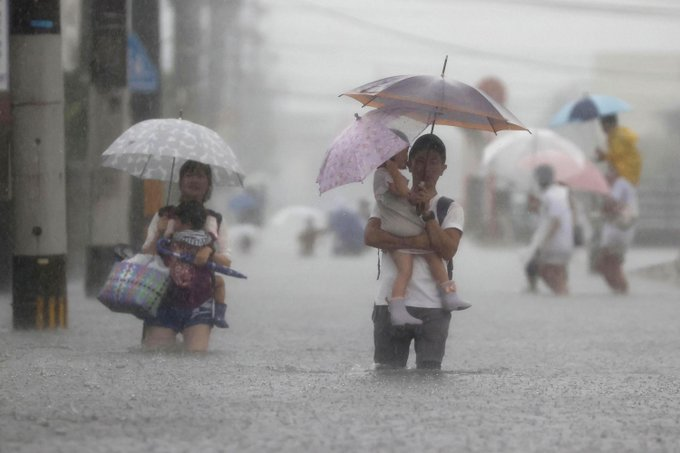 An evacuation order for more than a million people due to the record rain [VIDEO]