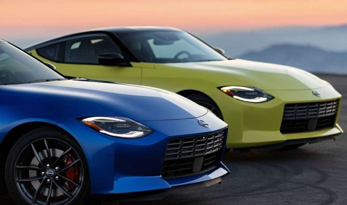 For the Highest Only: Nissan introduced its new Z Coupe with rear-wheel drive and manual gearbox!