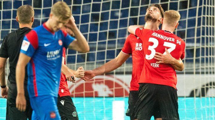Wennand 96 beat Hannover 96 1-0 against Haydenheim NDR.de - Game