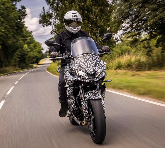 Official: Here are the first images of the Triumph Tiger Sport 660!