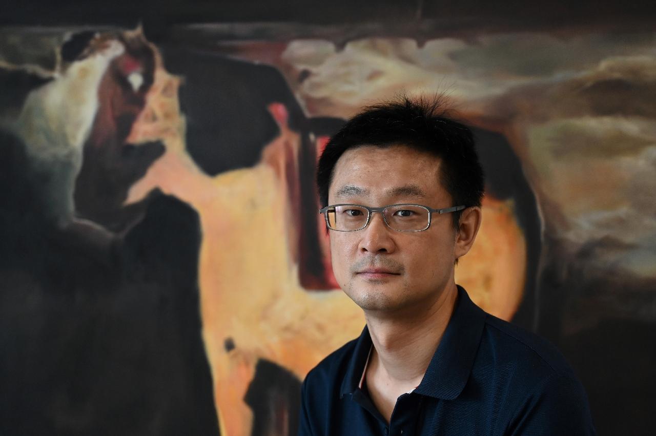 XiaoIce General Manager Li Di on July 5, 2021 in Beijing.