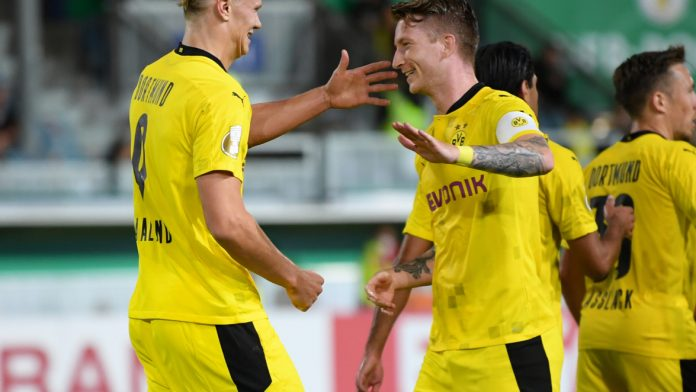 Kann Borussia Dortmund den Sieg im DFB-Pokal wiederholen? Die Auslosung der 2. Runde im DFB-Pokal findet heute statt. Alle Infos zur Übertragung in TV und Stream in diesem Artikel.