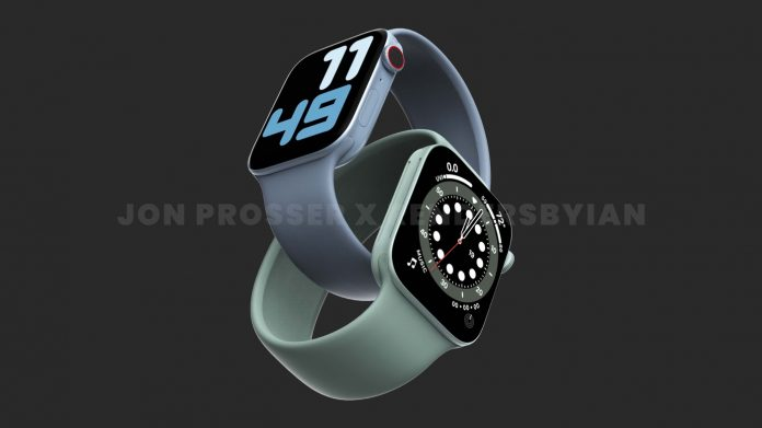 Rendu Apple Watch Series 7