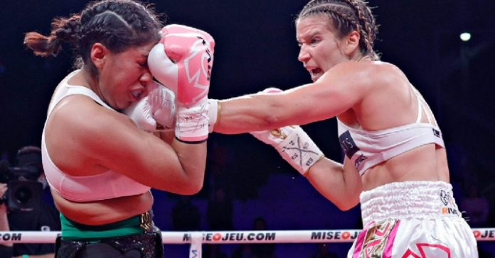 After the fight, Mexican boxer Janet Zacharia is reported to be in critical condition