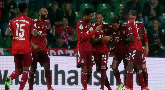 Bayern Munich did not have mercy on Bremer and beat it 12-0 at the Bokal Stadium
