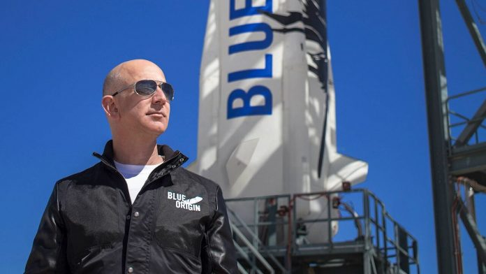 Bezos sued NASA over its deal with SpaceX