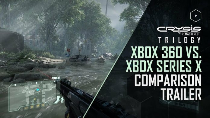 Crysis Remastered Trilogy Comparison Video