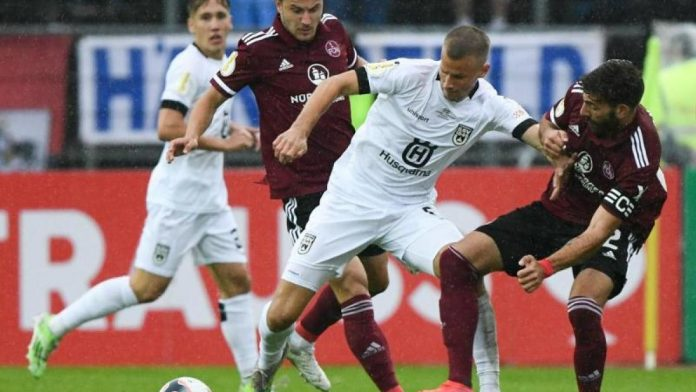 DFB-Pokal: Nuremberg advance to the second round - 1-0 win in Ulm