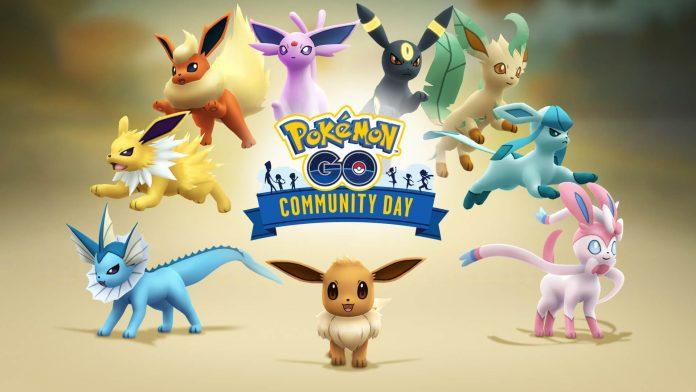 Eevee Pokémon GO Community Day, when will the event take place?  - Break Flip
