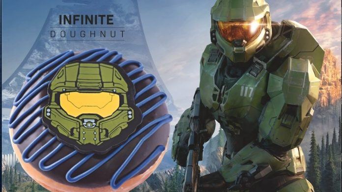 Girl's face!  The donut ads may have accidentally revealed the month of Halo Infinite • Eurogamer.de