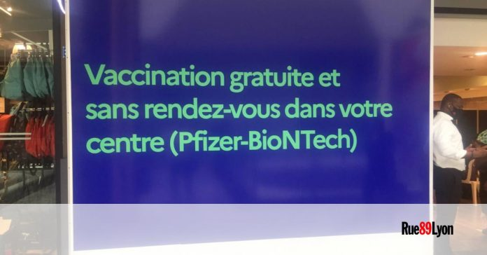 In Lyon-Part-Dieu, vaccination against Covid-19 is declining  