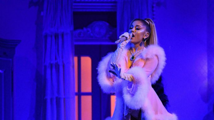 Incarnation of Ariana Grande in Fortnight, which continues the opening strategy