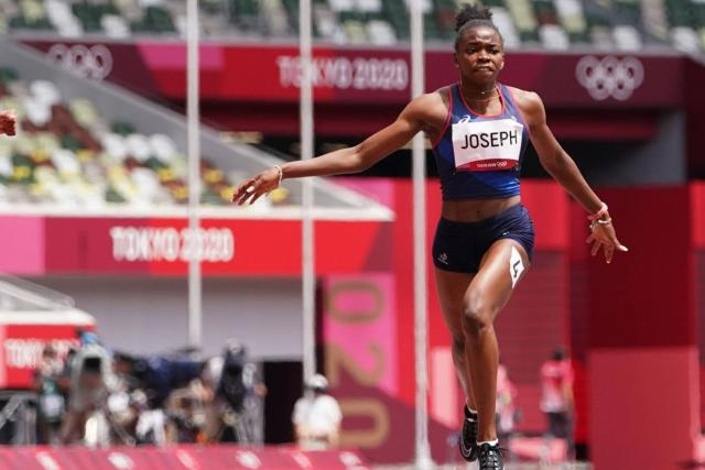 Jemima Joseph qualifies for the 200m semi-finals at the Tokyo Olympics