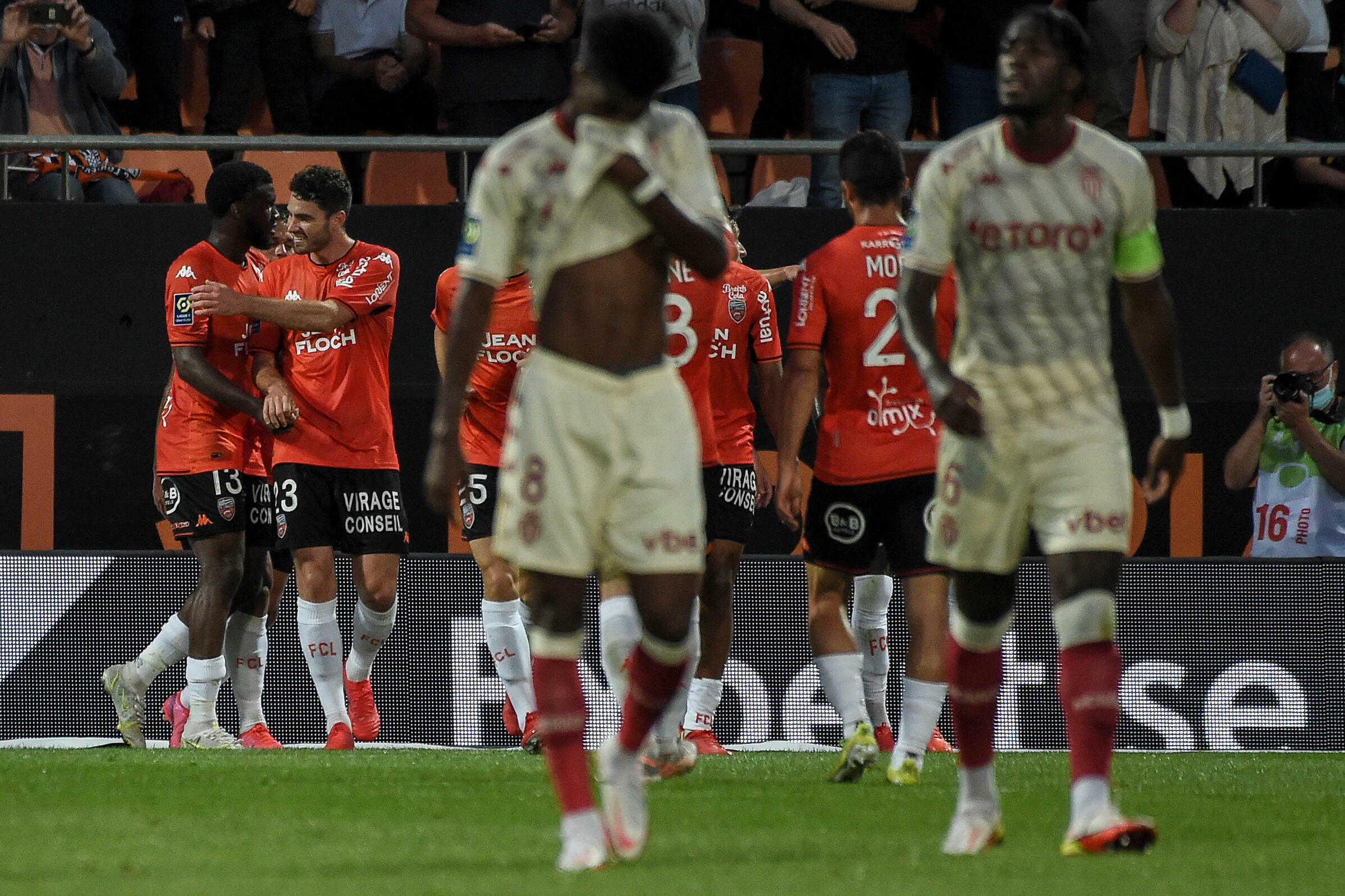 Lorientis was very realistic against Monaco on August 13, 2021 at Mostoyer Stadium.