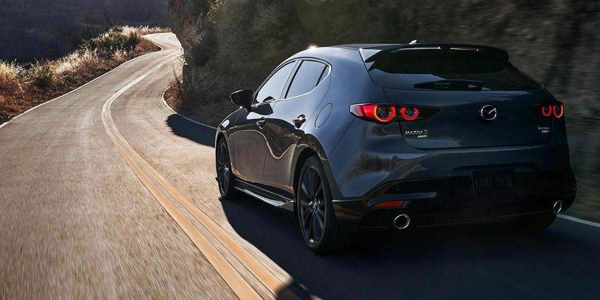 Mazda 3 turbo.  / Photo: Courtesy of Mazda.