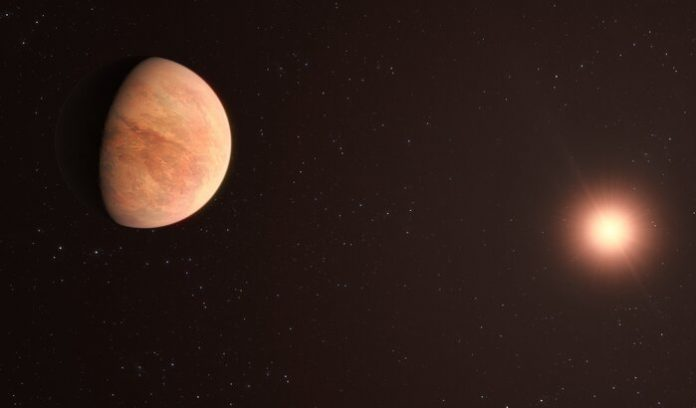 Mysterious planetary system 35 light-years from Earth