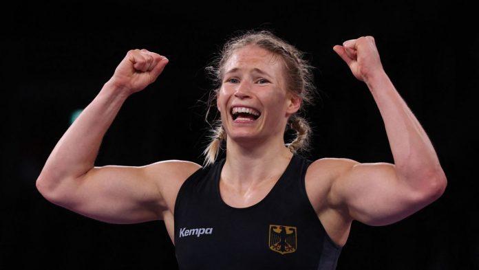 Olympia 2021: Alain Rotor-Foken wins gold in wrestling