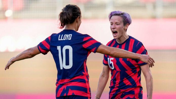Olympia 2021: Megan Rapinoe and Carli Lloyd lead USA to bronze in soccer tournament