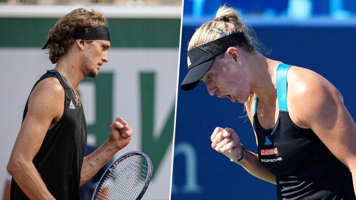 Alexander Zverev und Angelique Kerber qualifizierten sich beide für das Viertelfinale in Cincinnati.