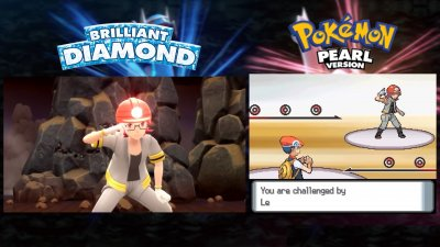 Pokémon Sparkling Diamond and Sparkling Pearl: Video comparison between the originals on the DS and the new versions on Switch