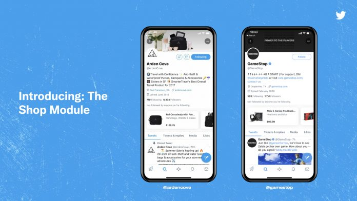 Twitter takes off in e-commerce with storefronts for brands