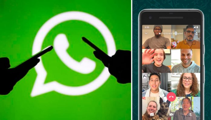 What are the risks of group video calls in the application?
