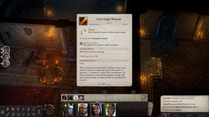 How to Heal in Pathfinder Righteous Wrath