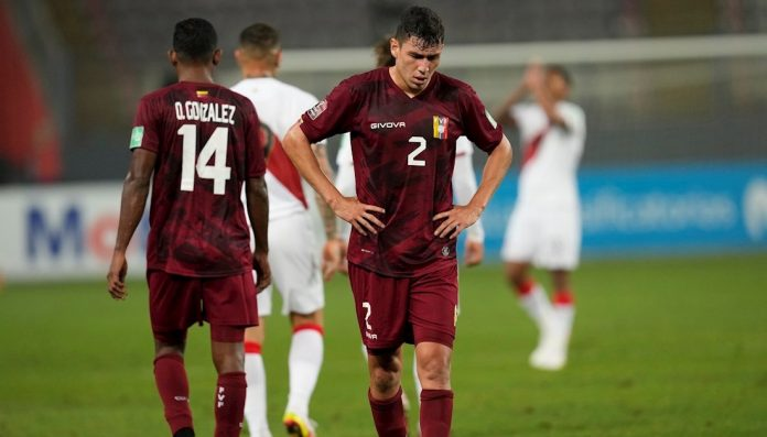 La Vinotinto falls to Peru in the qualifying rounds for Qatar 2022