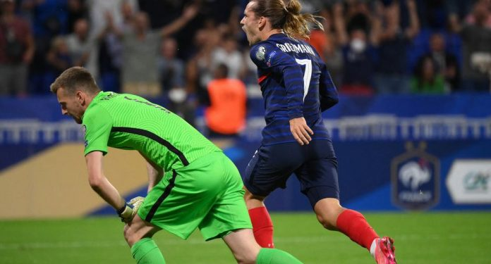 What was France vs.  Finland |  France returns to defeat Finland with the character of Griezmann |  goals |  European Qualifiers |  Total Sports