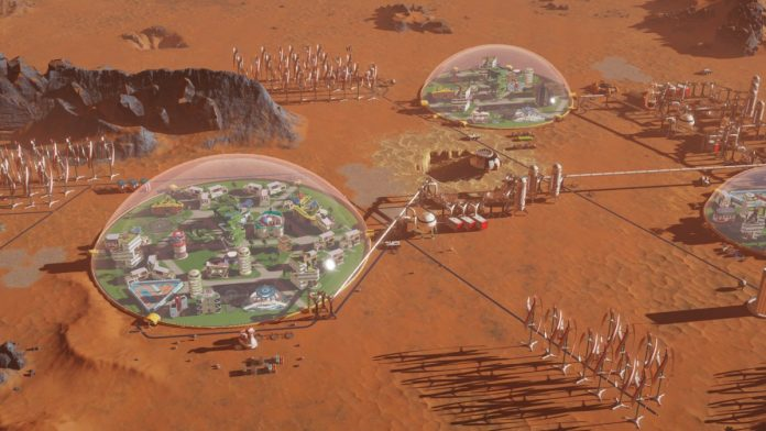 Bon: Free Surviving Mars plan on Steam until tonight