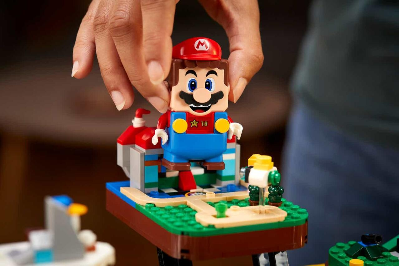 A closer look at the character of Mario