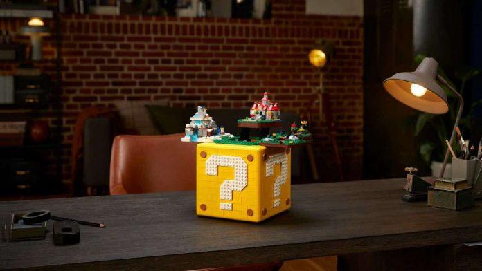 Super Mario 64 LEGO brick set looks amazing