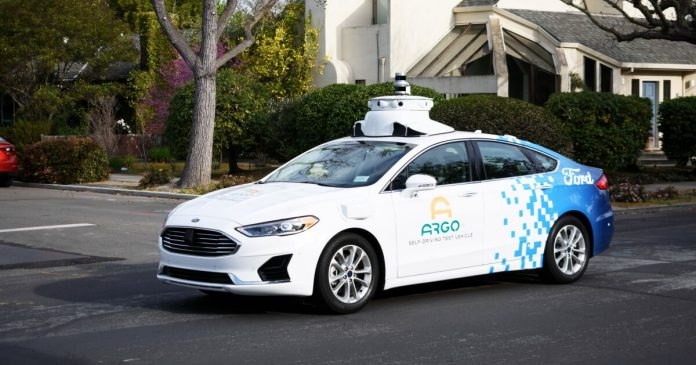 Ford and Walmart team up to offer home delivery in self-driving vehicles