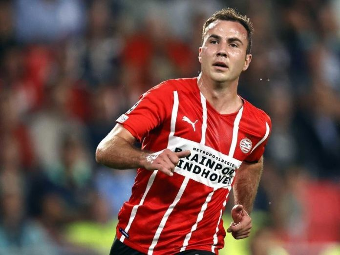 Götze scores for PSV Eindhoven - XI debut for Boateng |  free press