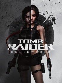 Principal art Tomb Raider Underworld revisited 25th Anniversary cover art work by Laura H Rubin 1