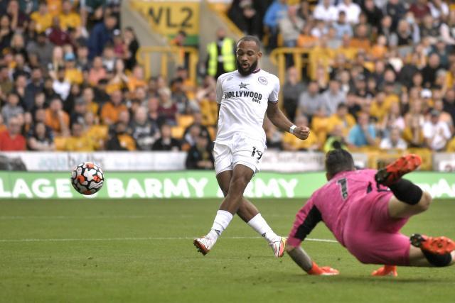 Brentford win at Wolverhampton in the Premier League