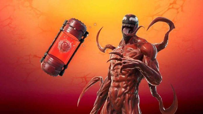 Fortnite: où trouver l'item Symbiote de Carnage dans le jeu vidéo ?