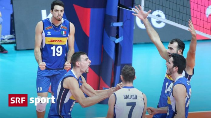 More sports news today - Italian volleyball players, European champions - sports