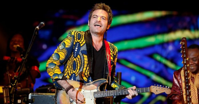 Mathieu Chedid, M, will play at the Stade de France with 1,000 musicians