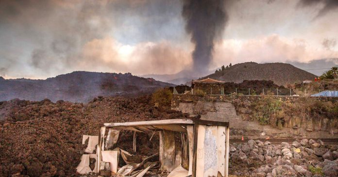 In the Canaries, an eruption expels thousands of people - liberation