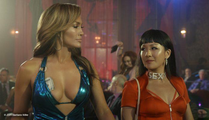 Jennifer Lopez as a criminal stripper