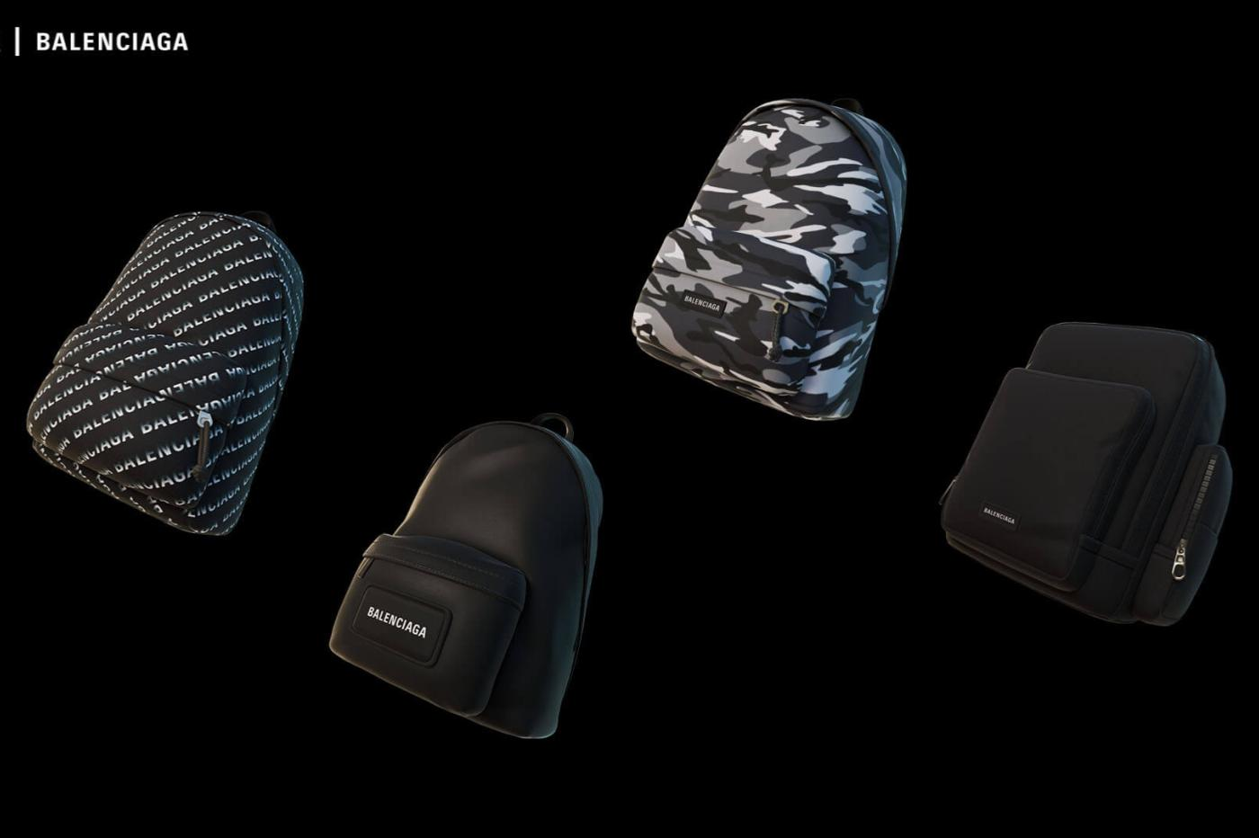 Fortnite Balenciaga Backpack Accessories