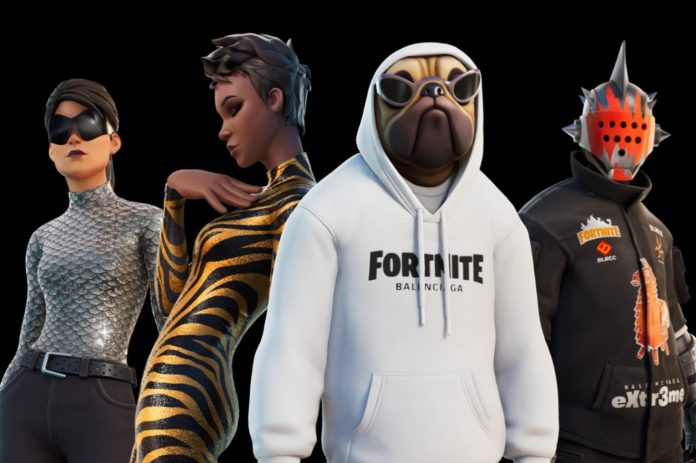 Fortnite Epic Games Balenciaga