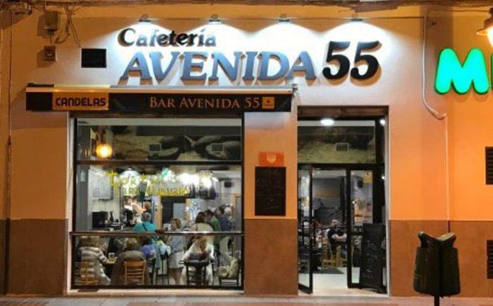 Avenida 55, establecimiento ubicado en la ciudad de Logroño. (Twitter)