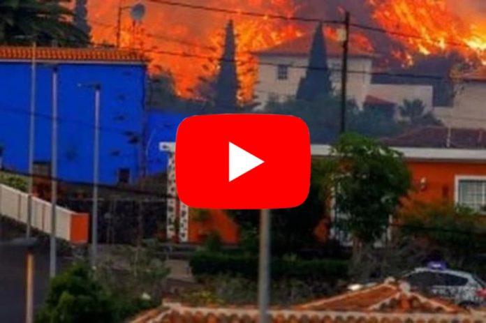 Meteo Cronaca DIRETTA: CANARIE, la LAVA del VULCANO VIEJA INGHIOTTE le CASE. Il VIDEO è IMPRESSIONANTE