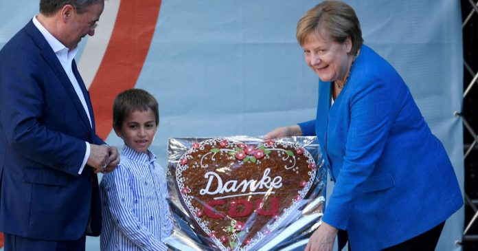 Angela Merkel's last plea: 'The country's stability is at stake with the vote'