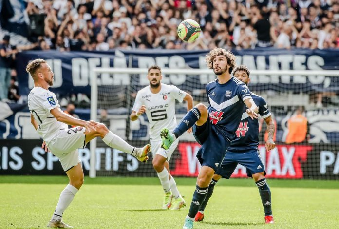 The Girondins dominated to snatch a tie against Rennes (1-1)