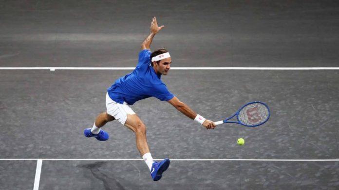 Ruud incrédulo: El público se volvió loco al ver a Roger Federer