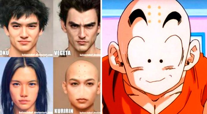 This is what Goku, Vegeta, Gohan and other characters will look like in real life